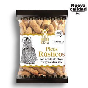 EL MOLINO DE DIA picos rústicos con aceite de oliva bolsa 130 gr