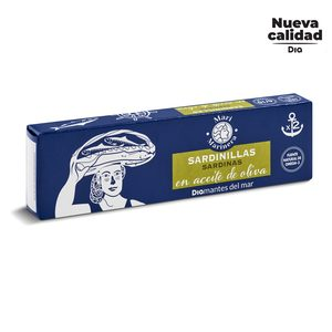 DIA MARI MARINERA sardinillas en aceite de oliva pack 2 latas de 62 gr