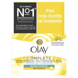 OLAY Complete crema hidratante de día piel sensible 50 ml