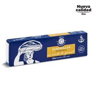 DIA MARI MARINERA sardinillas en aceite de girasol pack de 2 latas de 62 gr