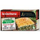 LA COCINERA lasaña de espinacas y queso fresco caja 530 gr