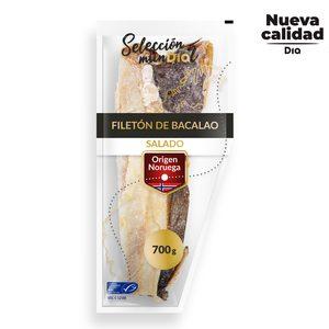 DIA SELECCIÓN MUNDIAL filetón bacalao salado envase 700 gr