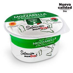 DIA SELECCIÓN MUNDIAL queso mozzarella di bufala campana DOP tarrina 125 gr
